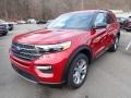 Ford Explorer XLT 4WD Rapid Red Metallic photo #5
