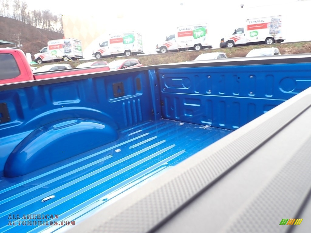 2021 F150 STX SuperCrew 4x4 - Velocity Blue / Black photo #7