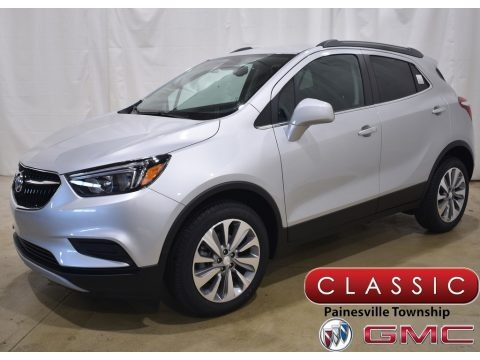 Quicksilver Metallic 2021 Buick Encore Preferred
