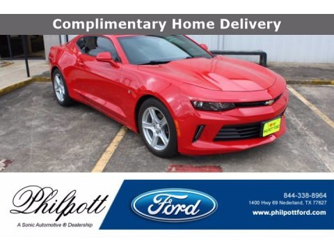 Red Hot 2017 Chevrolet Camaro LT Coupe