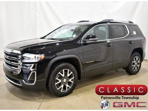Ebony Twilight Metallic 2021 GMC Acadia SLE AWD