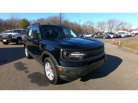 Shadow Black 2021 Ford Bronco Sport Base 4x4