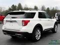 Ford Explorer Platinum 4WD Star White Metallic Tri-Coat photo #5