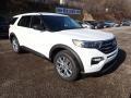 Ford Explorer XLT 4WD Star White Metallic Tri-Coat photo #3