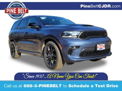 Reactor Blue Pearl 2021 Dodge Durango R/T AWD