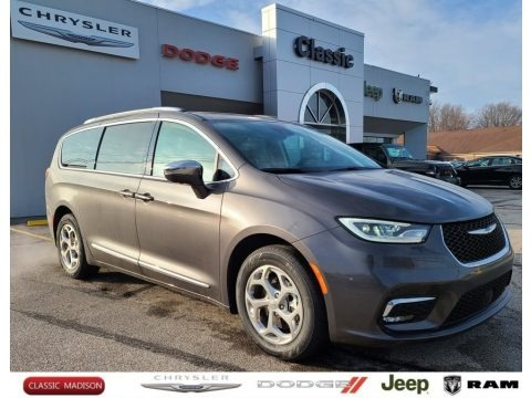 Granite Crystal Metallic 2021 Chrysler Pacifica Hybrid Limited