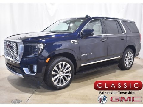 Midnight Blue Metallic 2021 GMC Yukon Denali 4WD