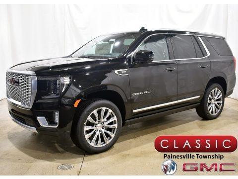 Onyx Black 2021 GMC Yukon Denali 4WD