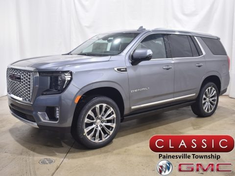 Satin Steel Metallic 2021 GMC Yukon Denali 4WD