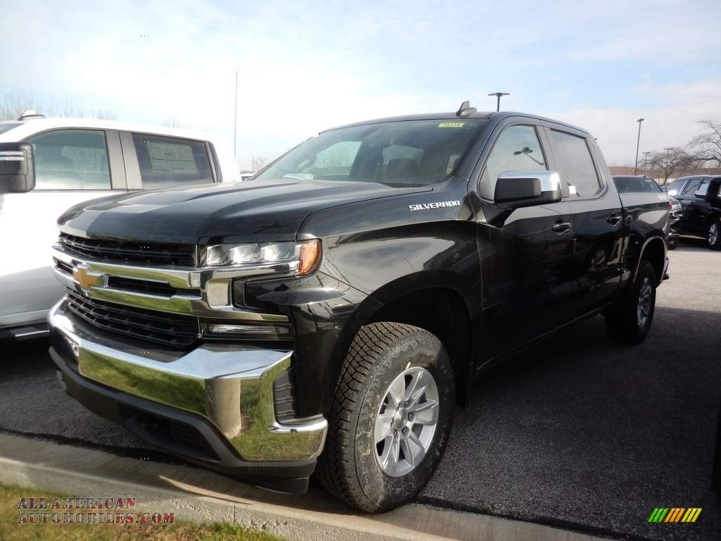2021 Silverado 1500 LT Crew Cab 4x4 - Black / Jet Black photo #1