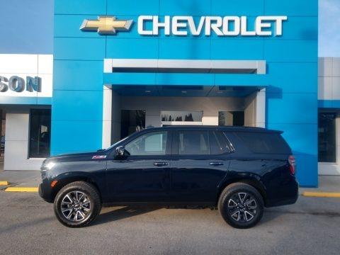 Midnight Blue Metallic 2021 Chevrolet Tahoe Z71 4WD