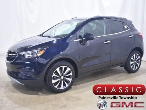 Dark Moon Blue Metallic 2021 Buick Encore Preferred