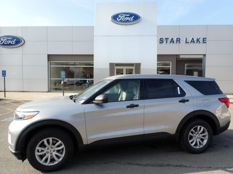 Iconic Silver Metallic 2021 Ford Explorer 4WD