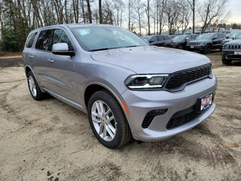 Billet Silver Metallic 2021 Dodge Durango GT AWD