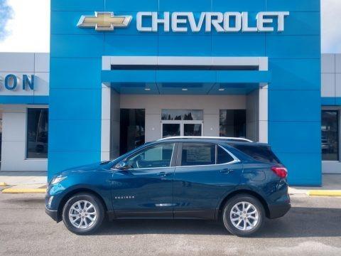 Pacific Blue Metallic 2021 Chevrolet Equinox LT