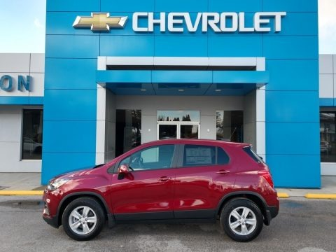 Crimson Metallic 2021 Chevrolet Trax LS