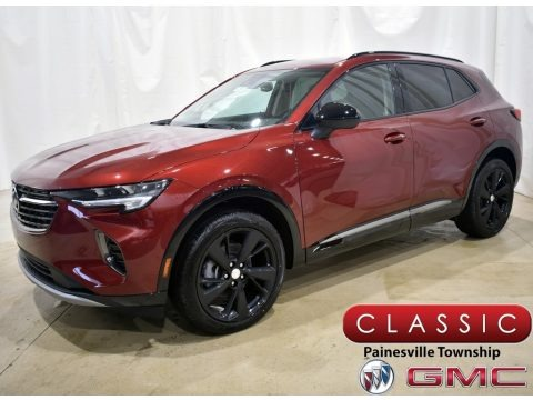 Cinnabar Metallic 2021 Buick Envision Preferred AWD