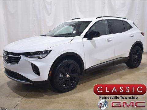 Summit White 2021 Buick Envision Preferred AWD