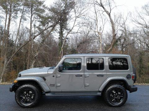 Sting-Gray 2021 Jeep Wrangler Unlimited Sahara Altitude 4x4