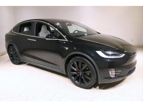 Solid Black 2018 Tesla Model X P100D