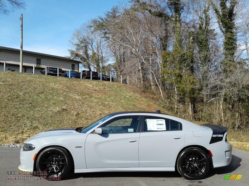 2021 Charger Scat Pack - Smoke Show / Black photo #1
