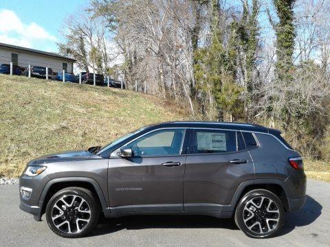 Granite Crystal Metallic 2021 Jeep Compass Limited 4x4