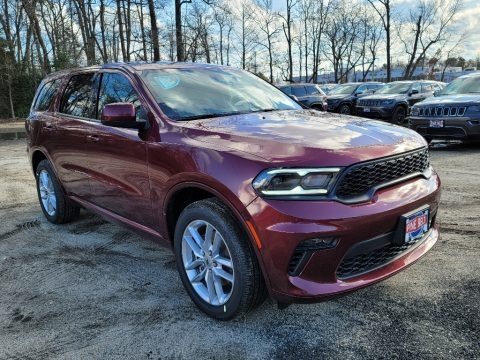Octane Red Pearl 2021 Dodge Durango GT AWD