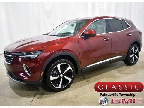 Cinnabar Metallic 2021 Buick Envision Essence AWD