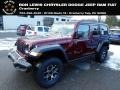 Jeep Wrangler Unlimited Rubicon 4x4 Snazzberry Pearl photo #1