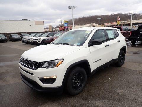 White 2021 Jeep Compass Sport