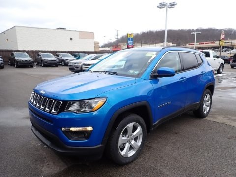 Laser Blue Pearl 2021 Jeep Compass Latitude 4x4