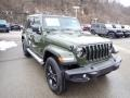 Jeep Wrangler Unlimited Sahara 4x4 Sarge Green photo #8