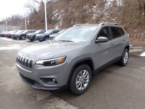 Sting-Gray 2021 Jeep Cherokee Latitude Lux 4x4