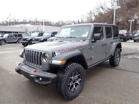 Sting-Gray 2021 Jeep Wrangler Unlimited Rubicon 4x4