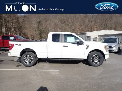 Oxford White 2021 Ford F150 STX SuperCab 4x4