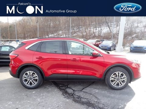 Rapid Red Metallic 2021 Ford Escape SEL 4WD