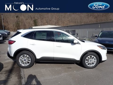 Oxford White 2021 Ford Escape SE 4WD Hybrid