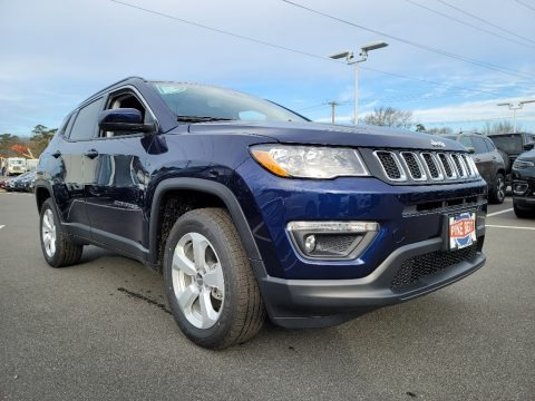 Jazz Blue Pearl 2021 Jeep Compass Latitude 4x4
