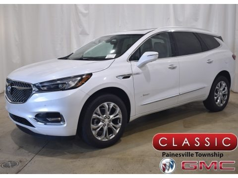 White Frost Tricoat 2021 Buick Enclave Avenir AWD