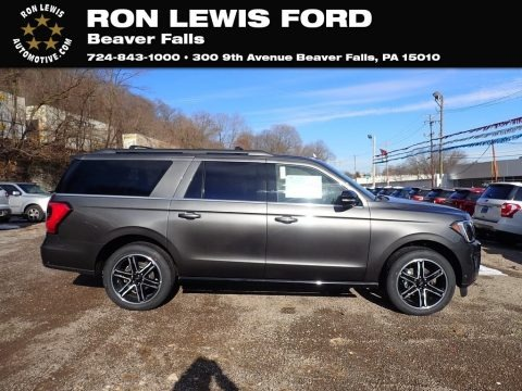 Magnetic Metallic 2021 Ford Expedition Limited Max 4x4