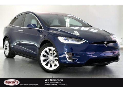 Solid Black 2019 Tesla Model X 100D