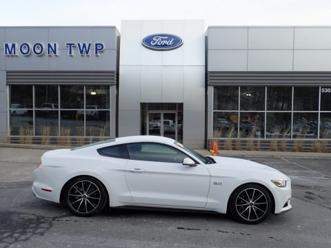 Oxford White 2016 Ford Mustang GT Coupe