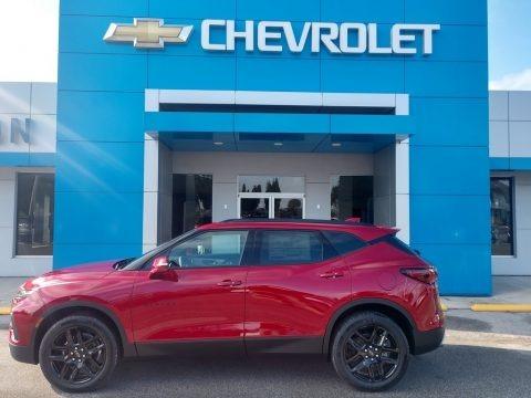 Cherry Red Tintcoat 2021 Chevrolet Blazer LT