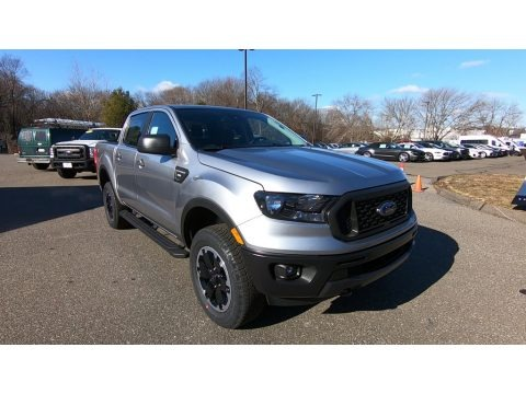 Iconic Silver Metallic 2021 Ford Ranger STX SuperCab 4x4