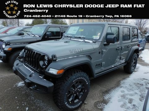 Sting-Gray 2021 Jeep Wrangler Unlimited Willys 4x4