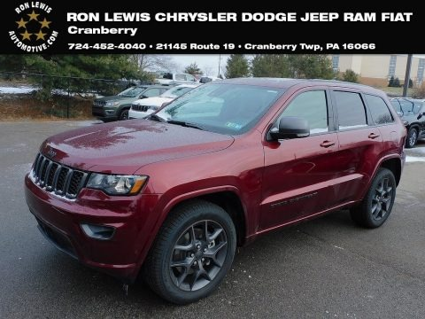 Velvet Red Pearl 2021 Jeep Grand Cherokee Limited 4x4