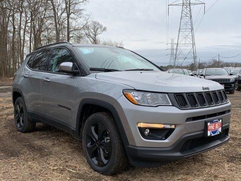 Billet Silver Metallic 2021 Jeep Compass Latitude 4x4