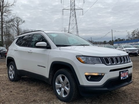 White 2021 Jeep Compass Latitude 4x4