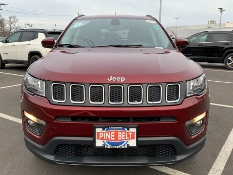 Velvet Red Pearl 2021 Jeep Compass Latitude 4x4