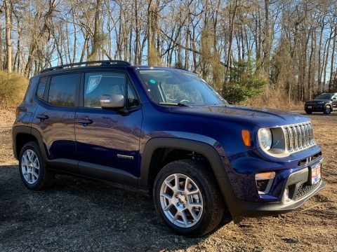 Jetset Blue 2021 Jeep Renegade Limited 4x4